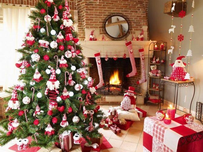Крутые идеи, как украсить дом на Новый год и Рождество 2021 2
