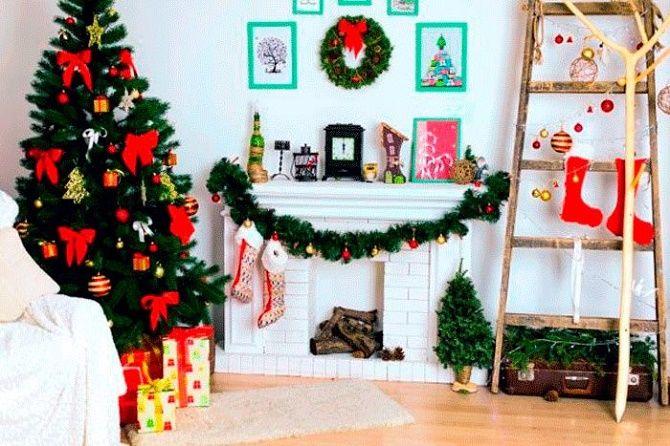 Крутые идеи, как украсить дом на Новый год и Рождество 2021 3