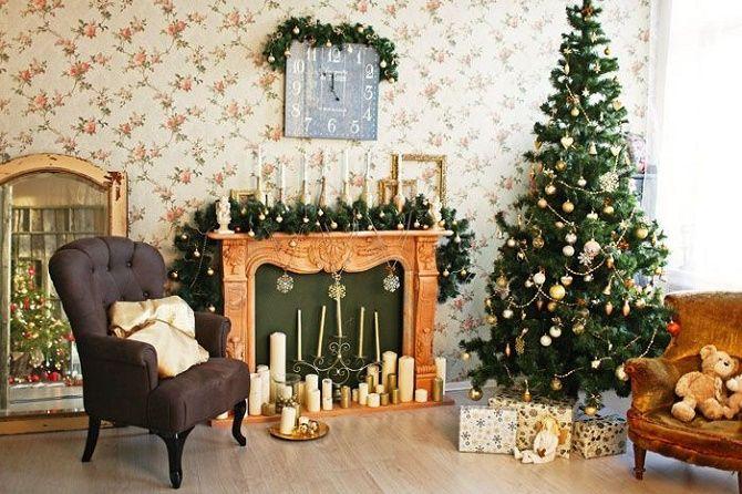 Крутые идеи, как украсить дом на Новый год и Рождество 2021 14