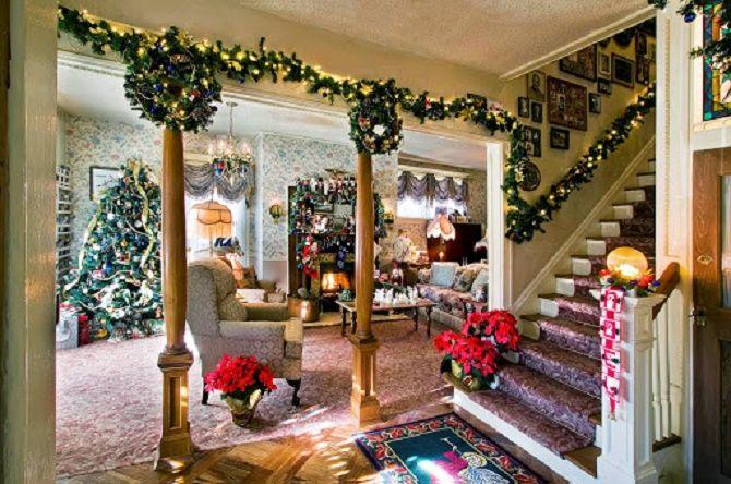 Крутые идеи, как украсить дом на Новый год и Рождество 2021 15