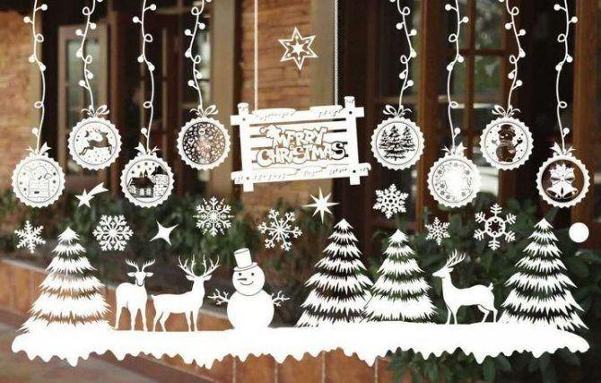 Крутые идеи, как украсить дом на Новый год и Рождество 2021 5