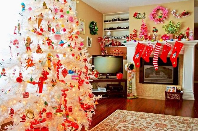 Крутые идеи, как украсить дом на Новый год и Рождество 2021 16