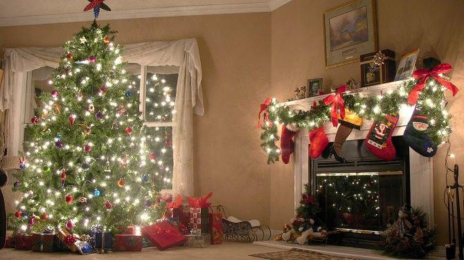 Крутые идеи, как украсить дом на Новый год и Рождество 2021 7
