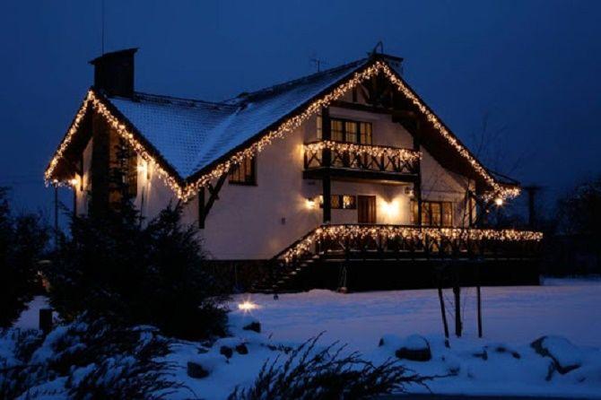 Крутые идеи, как украсить дом на Новый год и Рождество 2021 23