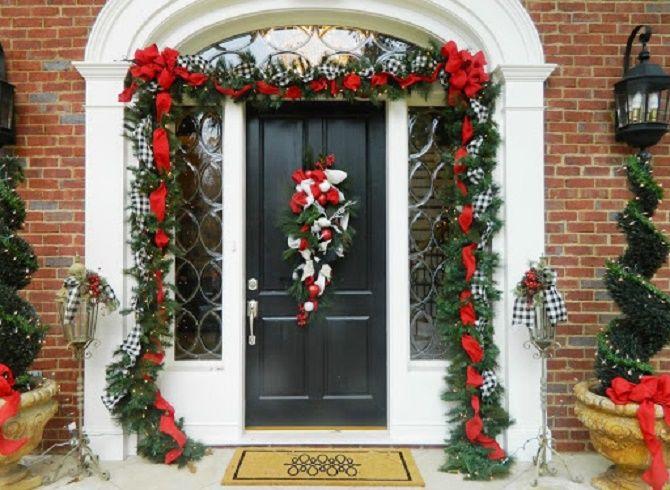 Крутые идеи, как украсить дом на Новый год и Рождество 2021 25