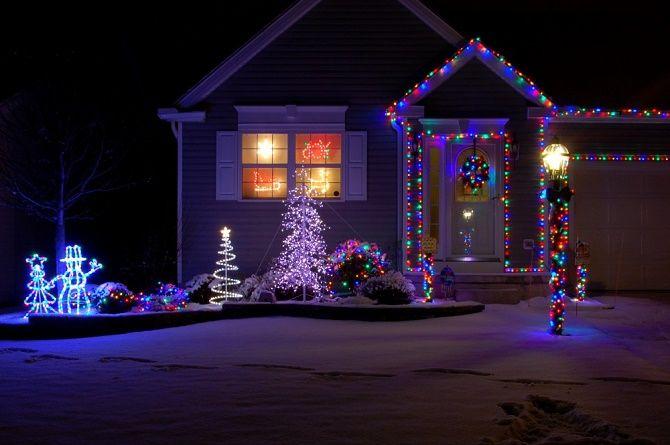 Крутые идеи, как украсить дом на Новый год и Рождество 2021 27