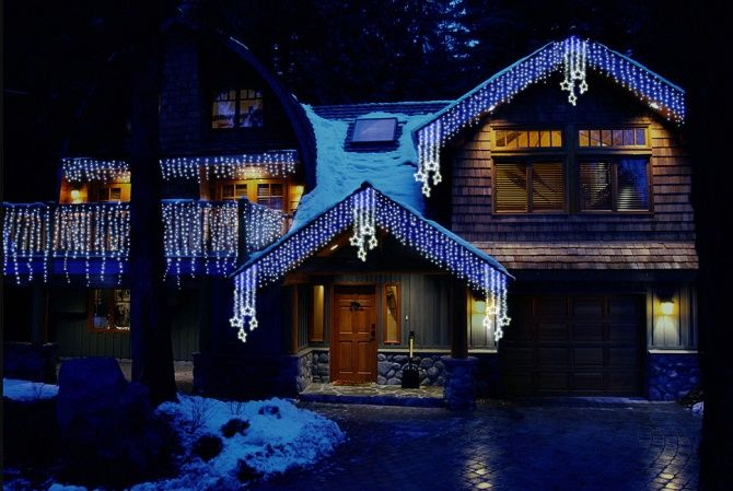 Крутые идеи, как украсить дом на Новый год и Рождество 2021 29