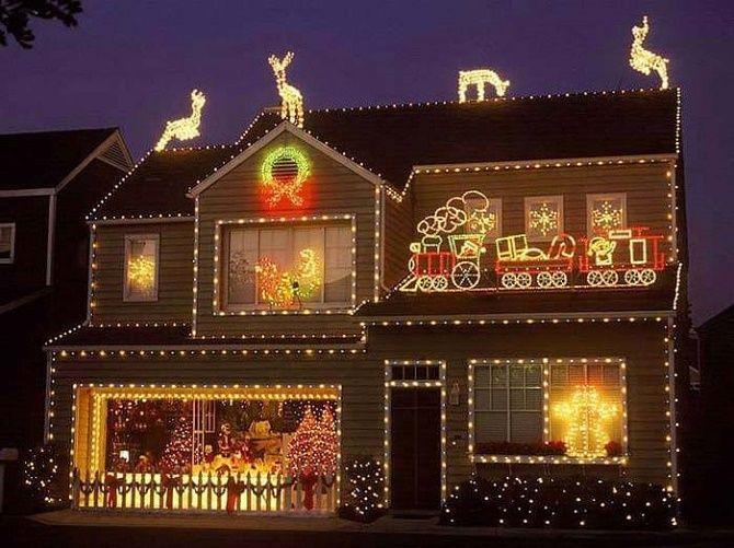 Крутые идеи, как украсить дом на Новый год и Рождество 2021 30