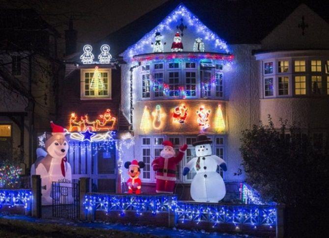 Крутые идеи, как украсить дом на Новый год и Рождество 2021 31