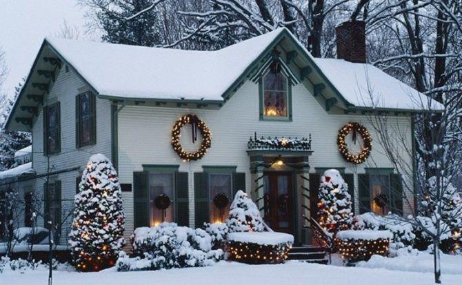 Крутые идеи, как украсить дом на Новый год и Рождество 2021 32