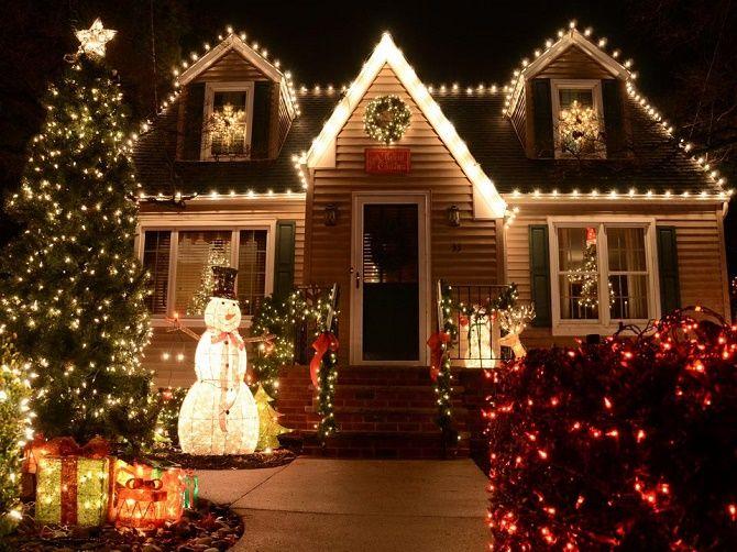 Крутые идеи, как украсить дом на Новый год и Рождество 2021 1