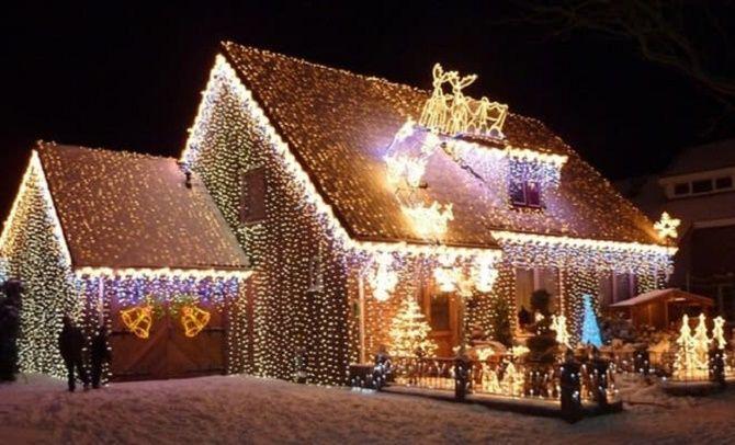 Крутые идеи, как украсить дом на Новый год и Рождество 2021 17