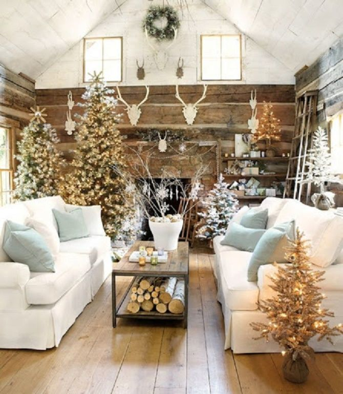 Крутые идеи, как украсить дом на Новый год и Рождество 2021 10