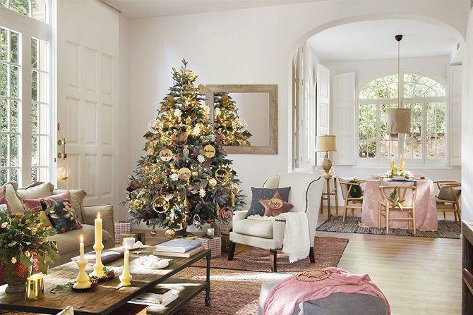 Крутые идеи, как украсить дом на Новый год и Рождество 2021 12