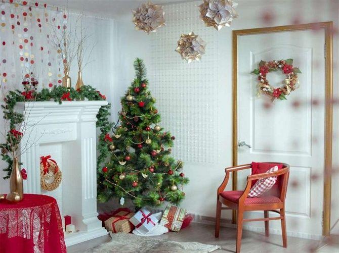 Як прикрасити квартиру на Новий рік 2021 – актуальні ідеї 4