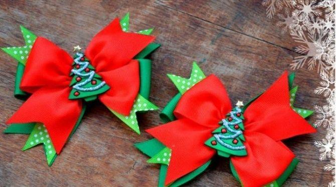 Как красиво завязать рождественский бант – мастер-класс для создания новогоднего декора 13