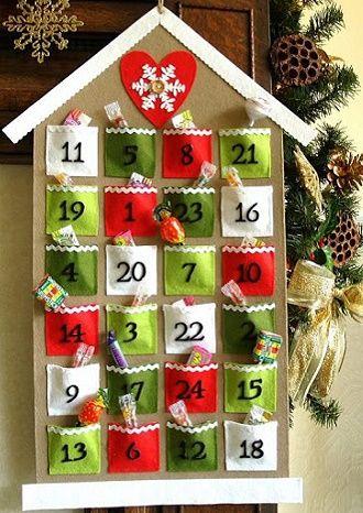 Адвент-календар своїми руками для дітей: кращі ідеї з прикладами 10