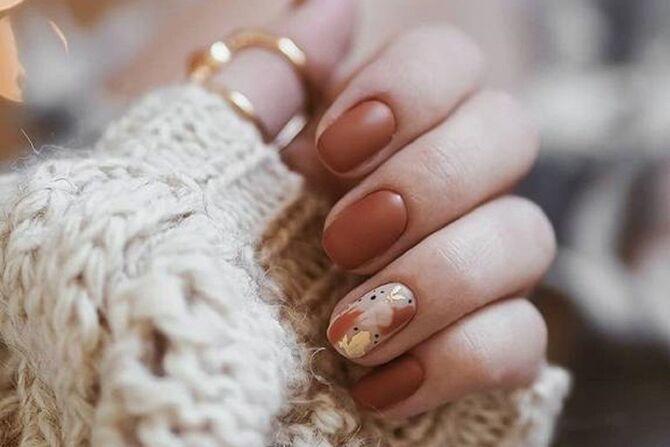 Карамельний манікюр – 80 смачних ідей дизайну нігтів 6