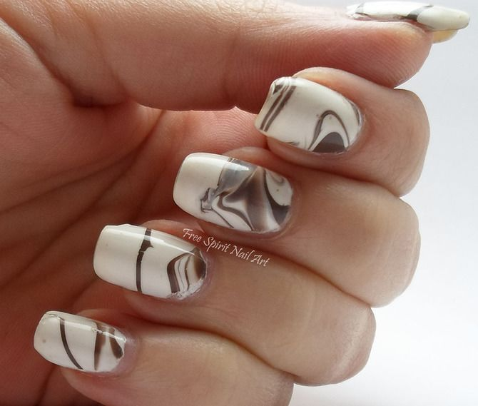 Карамельний манікюр – 80 смачних ідей дизайну нігтів 30