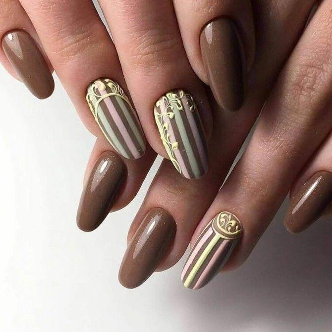 Карамельний манікюр – 80 смачних ідей дизайну нігтів 33