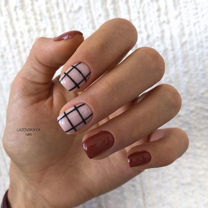 Карамельний манікюр – 80 смачних ідей дизайну нігтів 37