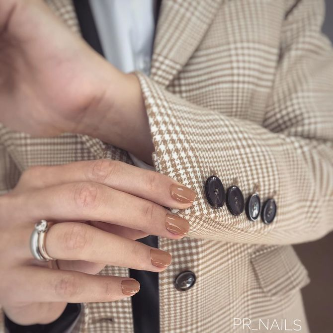 Карамельний манікюр – 80 смачних ідей дизайну нігтів 40