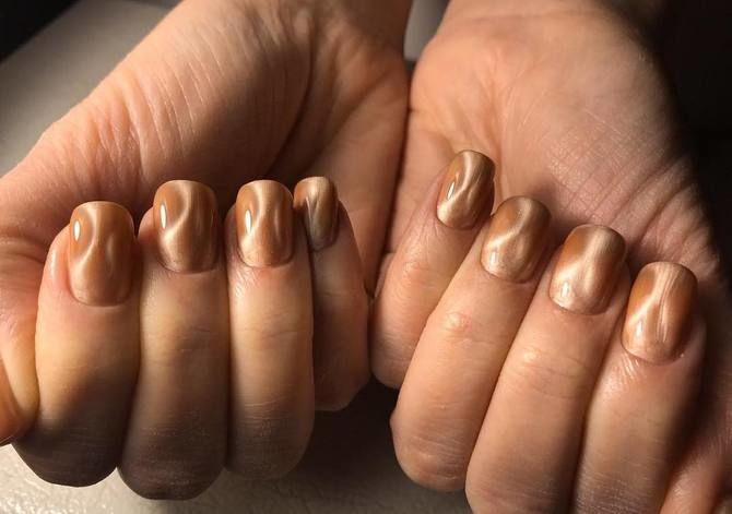 Карамельний манікюр – 80 смачних ідей дизайну нігтів 51