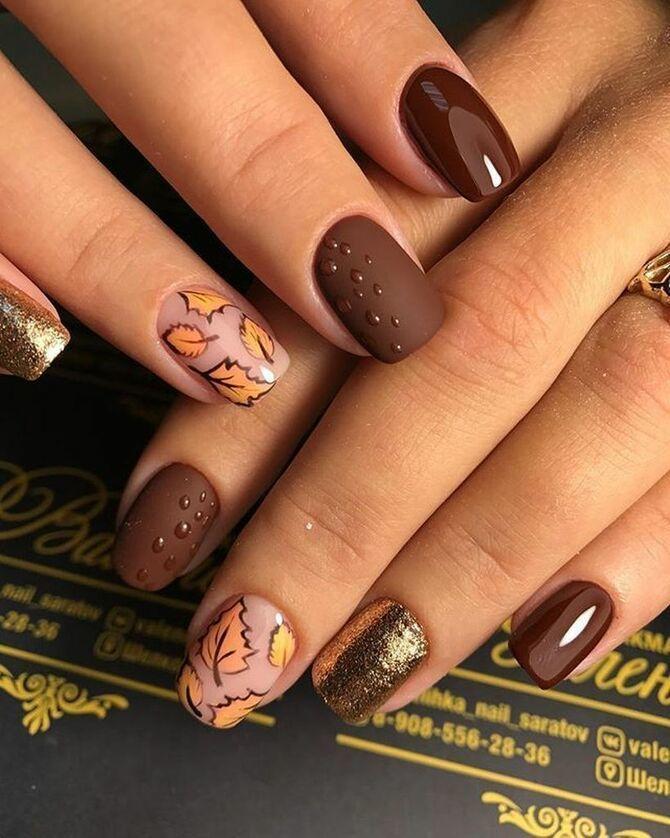 Карамельний манікюр – 80 смачних ідей дизайну нігтів 53