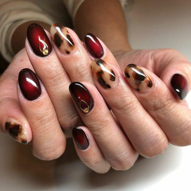 Карамельний манікюр – 80 смачних ідей дизайну нігтів 56