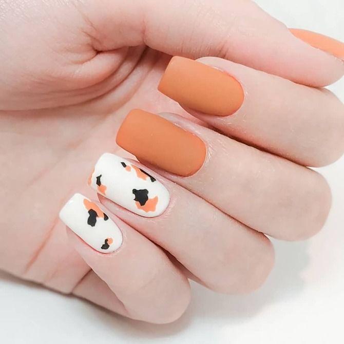 Карамельний манікюр – 80 смачних ідей дизайну нігтів 58
