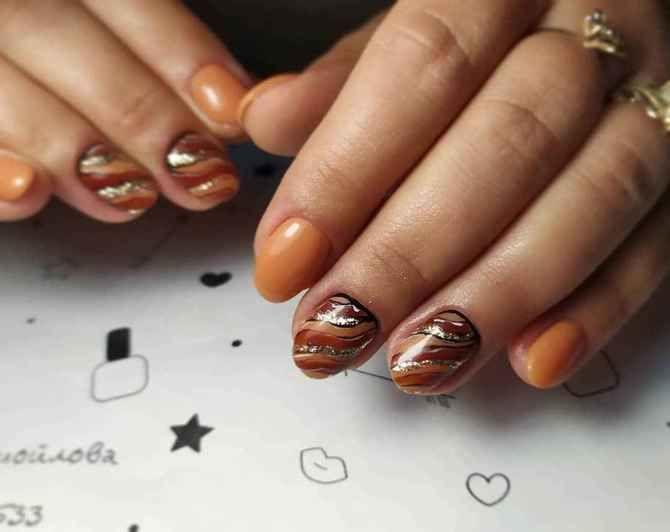 Карамельний манікюр – 80 смачних ідей дизайну нігтів 66