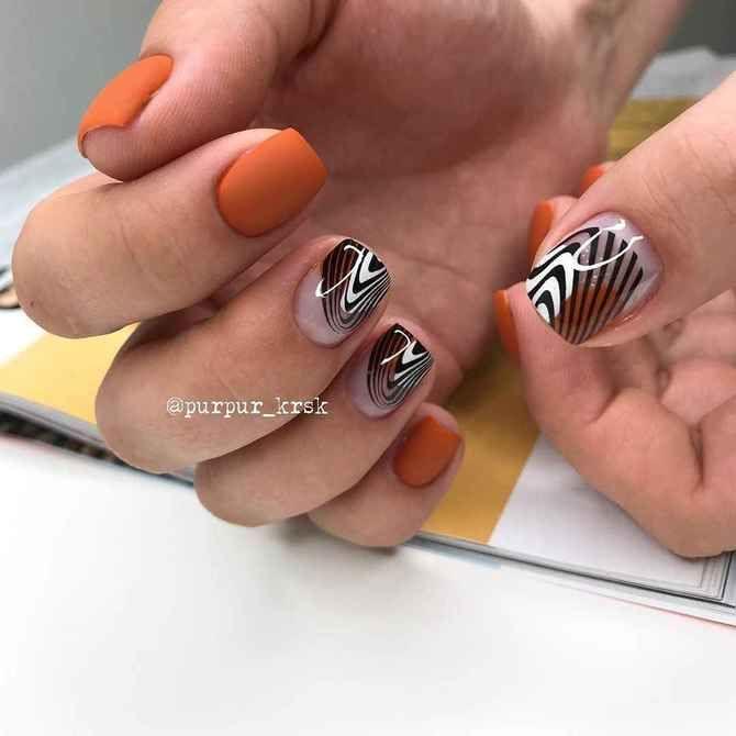Карамельний манікюр – 80 смачних ідей дизайну нігтів 67