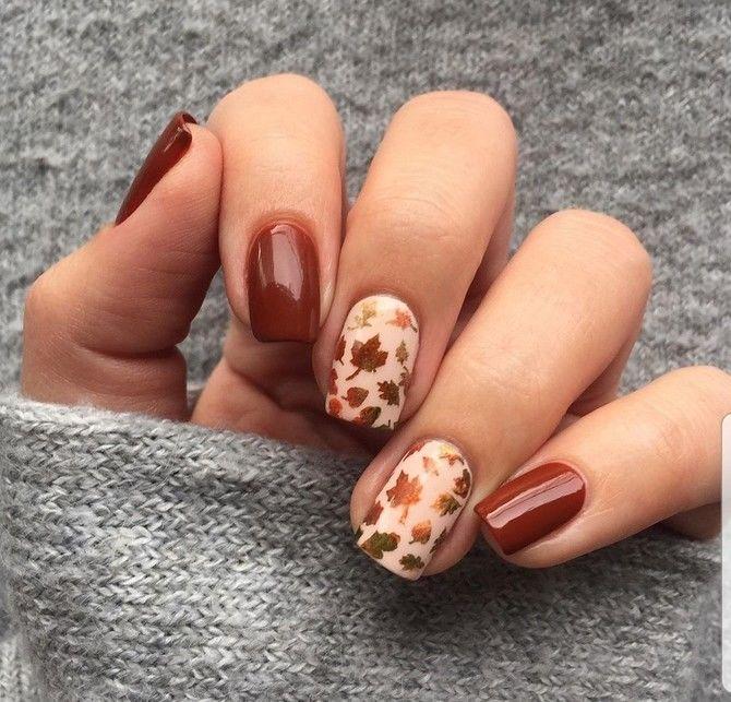 Карамельний манікюр – 80 смачних ідей дизайну нігтів 70