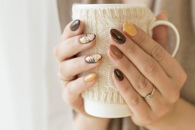 Карамельний манікюр – 80 смачних ідей дизайну нігтів 71
