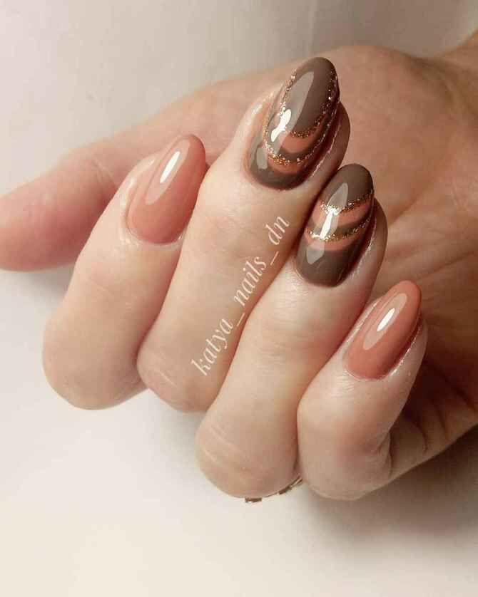 Карамельний манікюр – 80 смачних ідей дизайну нігтів 74