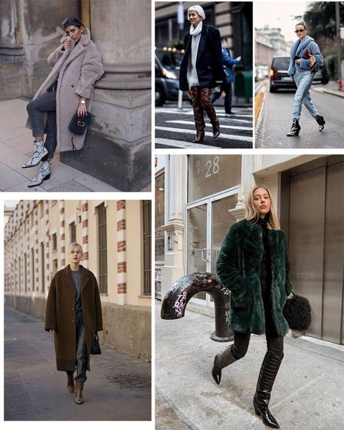 С чем носить казаки в модном сезоне 2020-2021 10