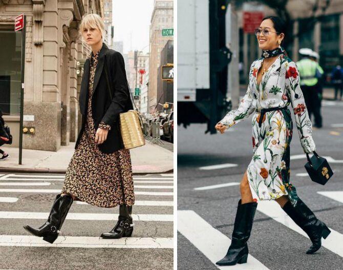 С чем носить казаки в модном сезоне 2020-2021 3