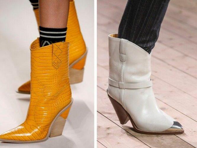 С чем носить казаки в модном сезоне 2020-2021 4