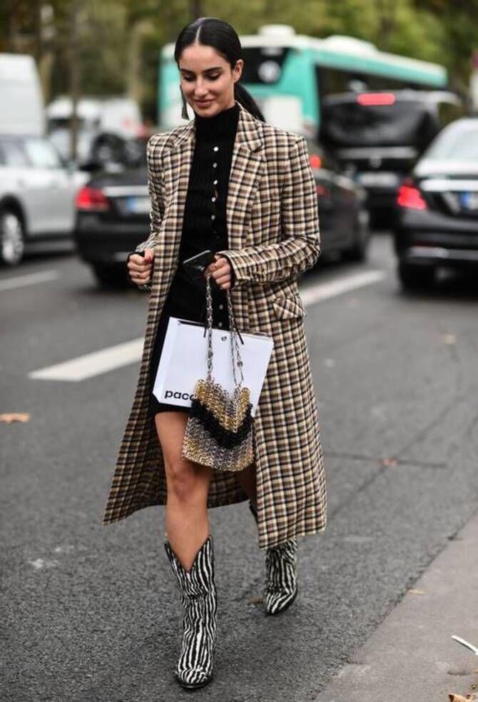 С чем носить казаки в модном сезоне 2020-2021 5