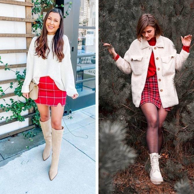 Красные юбки — с чем сочетать, чтобы выглядеть красиво 18