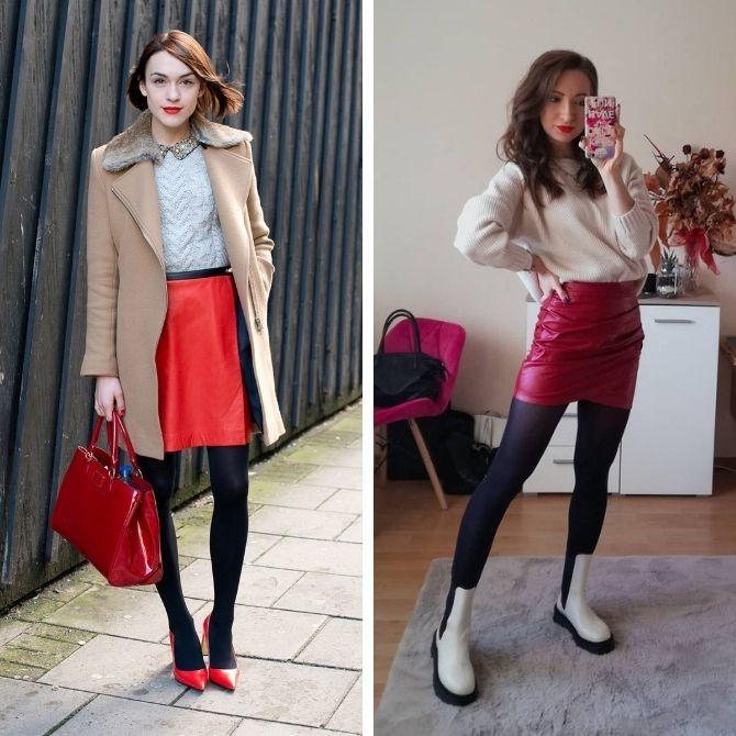 Красные юбки — с чем сочетать, чтобы выглядеть красиво 15
