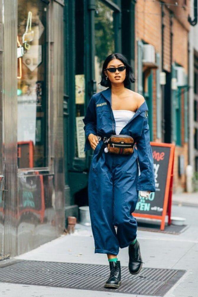Стильные луки с кожаными комбинезонами: почему их стоит носить 17