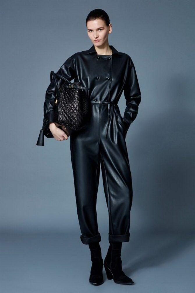 Стильные луки с кожаными комбинезонами: почему их стоит носить 7
