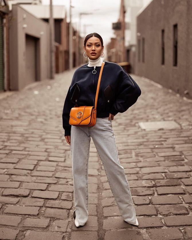 Як подовжити ноги за допомогою джинсів – модні прийоми 14