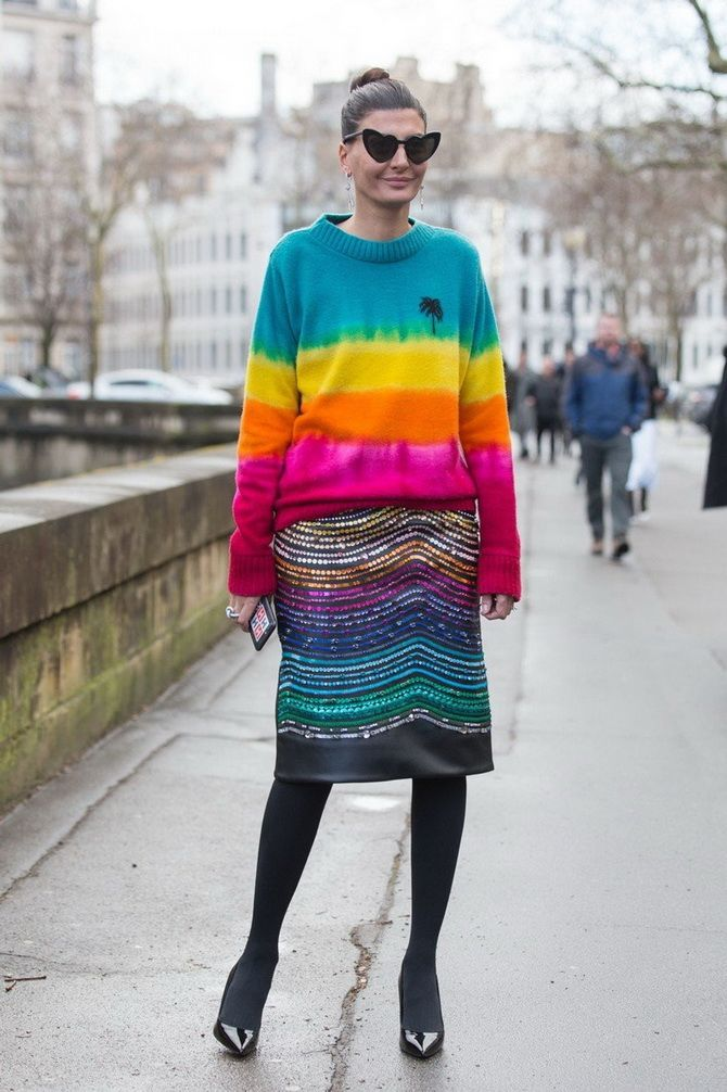 Модные колготки: советы, как подобрать под свой стиль 17