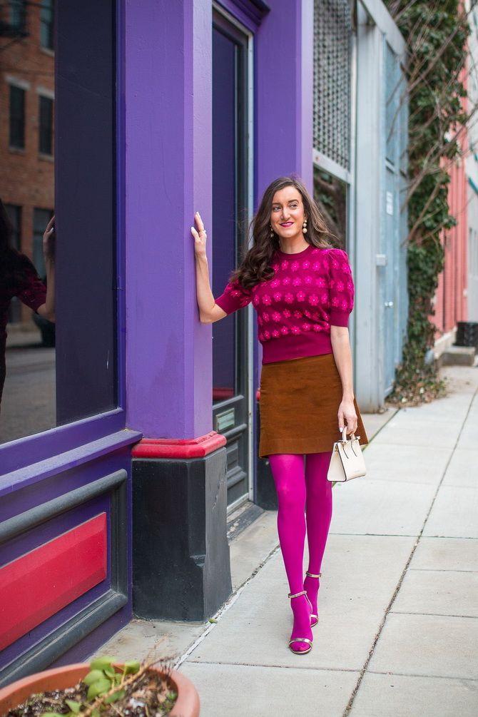 Модные колготки: советы, как подобрать под свой стиль 31