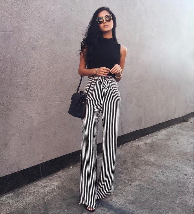 Какую одежду не стоит одевать невысоким девушкам? 5