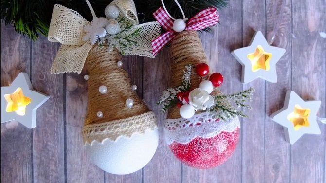 Ялинкові іграшки з лампочок: створюємо новорічний настрій 23