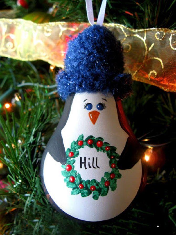 Ялинкові іграшки з лампочок: створюємо новорічний настрій 7