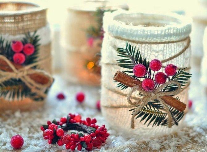 Как сделать новогодние подсвечники своими руками – лучшие идеи 29